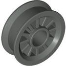 LEGO Dark Gray Wheel Centre Spoked Small (30155)