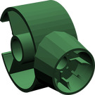 LEGO Dark Green Dinosaur Body Neck / Tail Ring (40375)