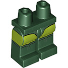 LEGO Dark Green Green Arrow Minifigure Hips and Legs (36226)