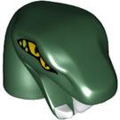 LEGO Dark Green Head (25077)