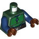 LEGO Dark Green Mandalorian Warrior Minifig Torso (76382)