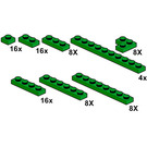 LEGO Dark Green Plates Set 10063