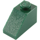 LEGO Dark Green Slope 45° 2 x 1 (3040)