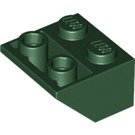 LEGO Dark Green Slope 45° 2 x 2 Inverted (3660)