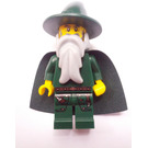 LEGO Dark Green Wizard Chess King Castle Minifigure