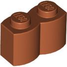 LEGO Dark Orange Brick 1 x 2 Log (30136)