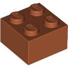 LEGO Dark Orange Brick 2 x 2 (3003)