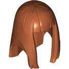 LEGO Dark Orange Minifigure Figure Hair (17346 / 75867)
