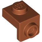 LEGO Dark Orange Plate 1 x 1 with 1.5 Bracket (Down) (36841)