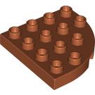 LEGO Plate 4 x 4 with Round Corner (98218)