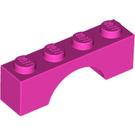 LEGO Dark Pink Arch 1 x 4 (3659)