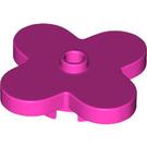 LEGO Dark Pink Design Plate 4 x 4 x 2/3 (35473)