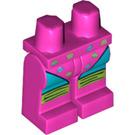 LEGO Dark Pink Fitness Instructor Legs (97192)