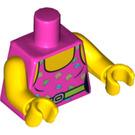 LEGO Dark Pink Fitness Instructor Torso (88585)