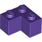 LEGO Dark Purple Brick 2 x 2 Corner (2357)