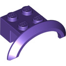 LEGO Dark Purple Brick 2 x 4 x 1 with Wheel Arch (28579 / 98282)