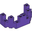 LEGO Brick 4 x 8 x 2.333 Turret Top (6066)