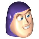 LEGO Dark Purple Buzz Lightyear Head (88754)