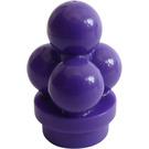 LEGO Dark Purple Minifig Ice Cream Scoops (6254)