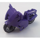 LEGO Dark Purple Motorcycle Fairing Assembly