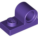 LEGO Dark Purple Plate 1 x 2 with Pin Hole (11458)