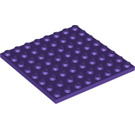 LEGO Dark Purple Plate 8 x 8 (41539)