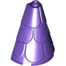 LEGO Dark Purple Roof 2 x 4 x 4 (35563)