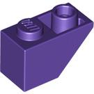 LEGO Dark Purple Slope 1 x 2 (45°) Inverted (3665)