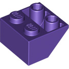 LEGO Dark Purple Slope 2 x 2 (45°) Inverted (3660)
