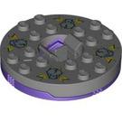 LEGO Dark Purple Spinner Ø47.79 X 1-1/3 (92547)