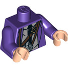 LEGO Dark Purple Stan Shunpike (Knight Bus Driver) Torso (76382)