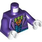 LEGO Dark Purple The Joker with Dark Purple Hat Minifig Torso (76382)