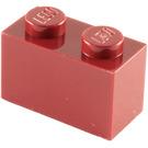 LEGO Dark Red Brick 1 x 2 (3004)