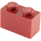 LEGO Dark Red Brick 1 x 2 (3004)