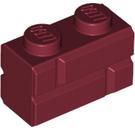 LEGO Brick 1 x 2 with Embossed Bricks (98283)