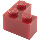 LEGO Dark Red Brick 2 x 2 Corner (2357)