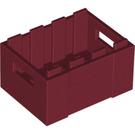 LEGO Dark Red Crate (30150)