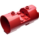 LEGO Dark Red Cylinder 3 x 6 x 2 2/3 Horizontal Solid Center Studs (93168)