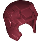 LEGO Dark Red Helmet with Ear and Forehead Guards (10907)