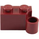 LEGO Dark Red Hinge Brick 1 x 4 Base (3831)