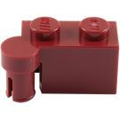 LEGO Dark Red Hinge Brick 1 x 4 Top (3830)
