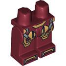 LEGO Dark Red Iron Man Mark 42 Armor Legs (14624)