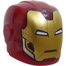 LEGO Iron Man Minifigure Helmet (28631 / 66602)