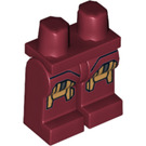 LEGO Dark Red Iron Man with Circle on Chest Legs (10841 / 11461)