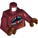 LEGO Dark Red Lobster Guardian Torso (76382 / 88585)