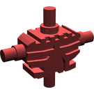 LEGO Dark Red Minifig Mechanical Torso with 4 Side Attachment Cylinders (54275)