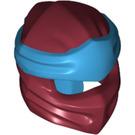 LEGO Dark Red Ninjago Mask with Dark Azure Headband (40925)
