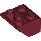 LEGO Dark Red Slope 2 x 2 (45°) Inverted (3660)