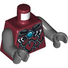 LEGO Dark Red Wakz Torso (76382)