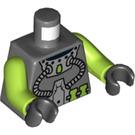 LEGO Dark Stone Gray Atlantis Diver Torso (76382 / 88585)